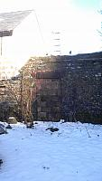 Rear Wall of the corner house