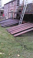 Creosoting Scaffolding Boards
