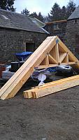 Delivery of Roof Timbers 2