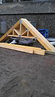 Delivery of Roof Timbers